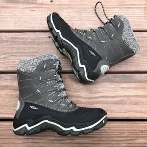 KEEN Durand Polar Shell Waterproof Winter Boots